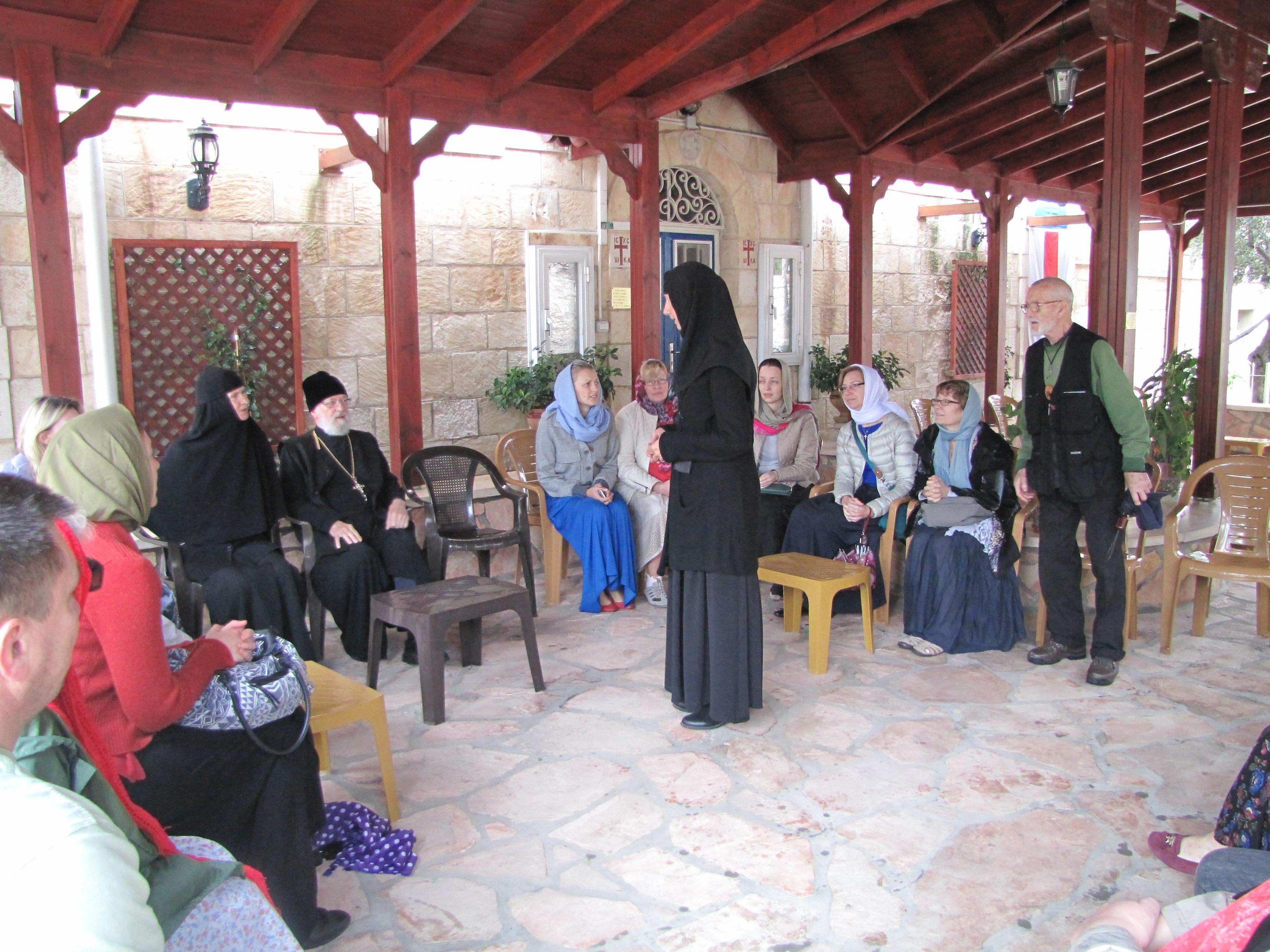 Монастырь вознесения  на Елеоне