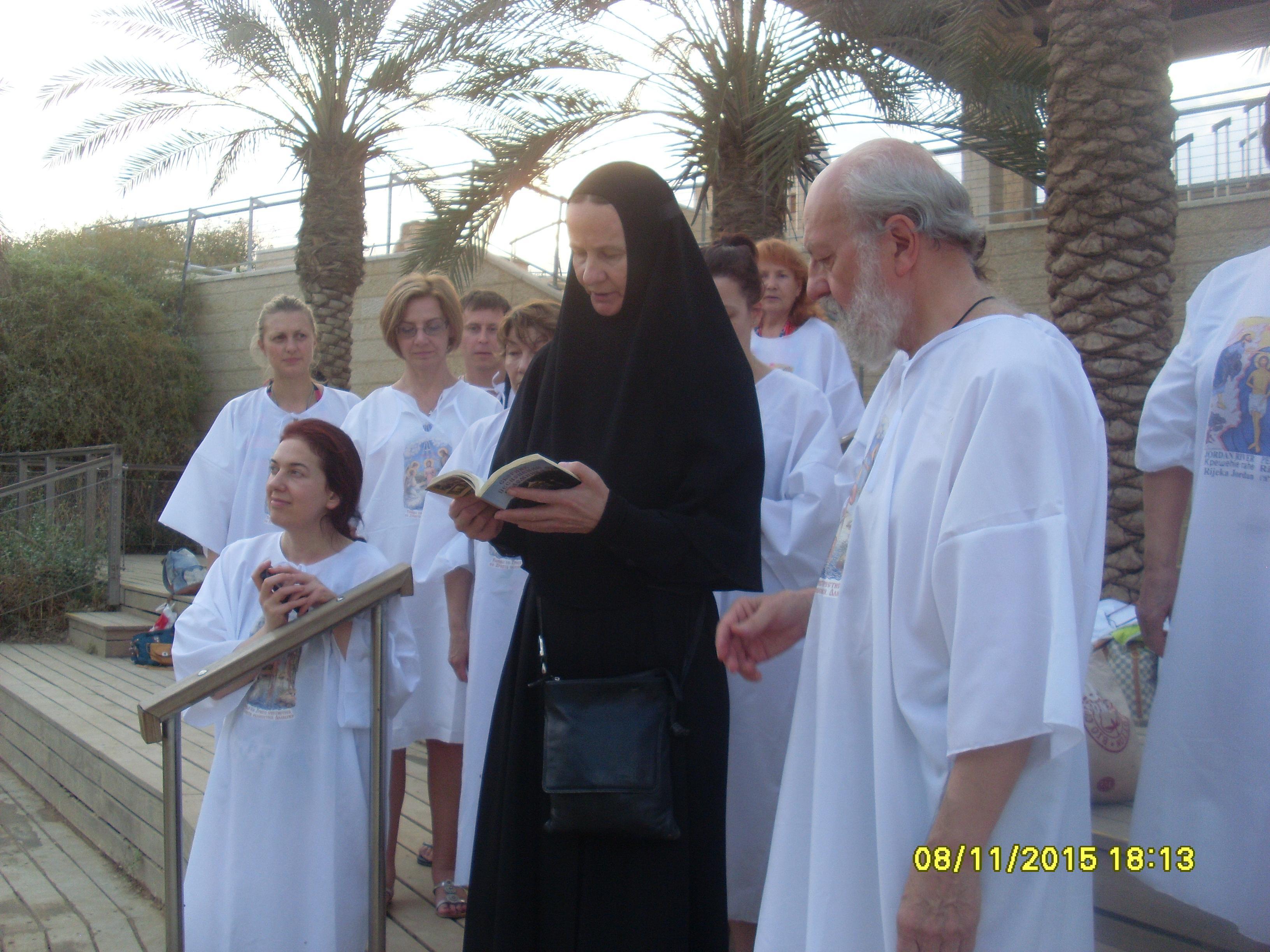 Отец Максим с матушкой пропели соответствующие стихиры и каноны