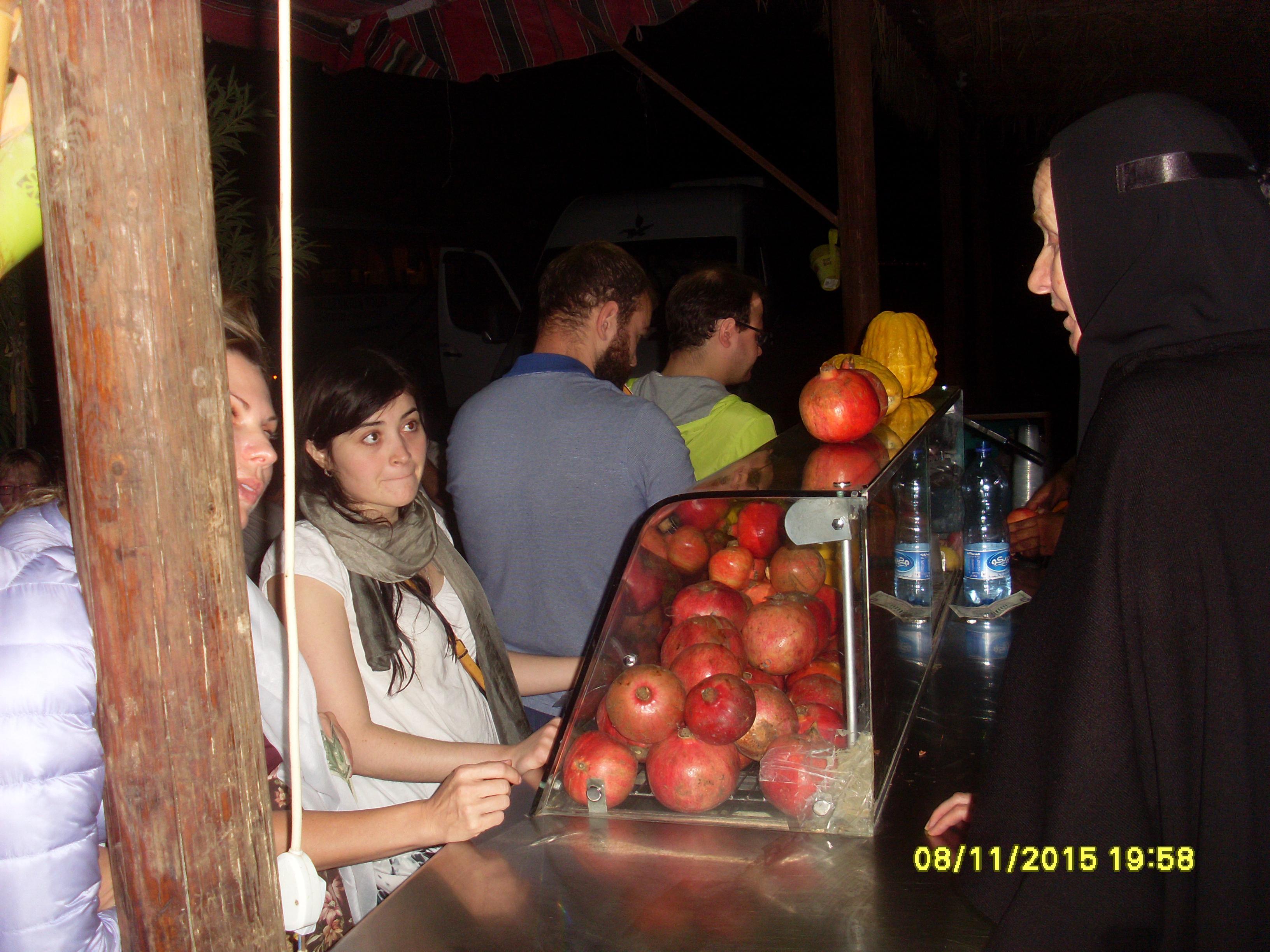 Импровизированноый фруктовый буфет